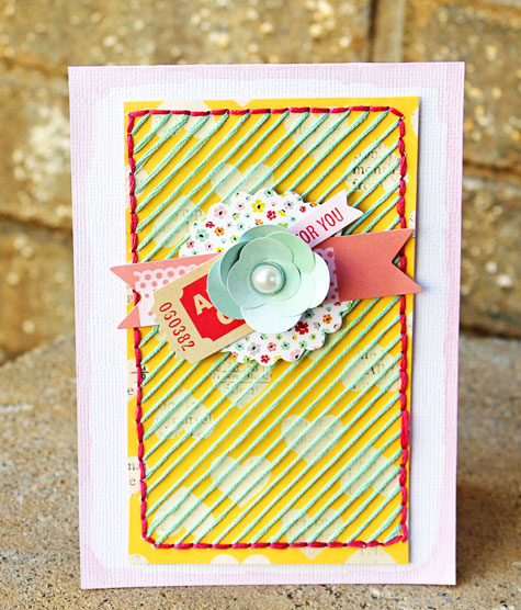 Stitched-Card