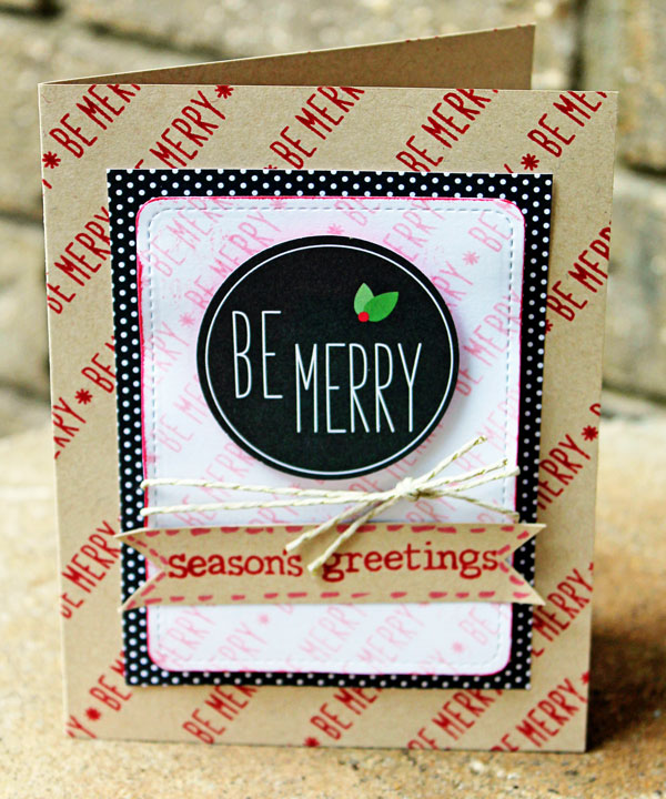 Be-Merry-Card